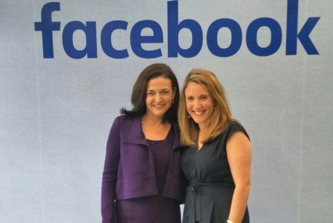 Meeting Sheryl Sandberg
