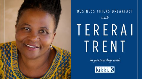 She's Oprah's favourite guest and she's speaking for Business Chicks