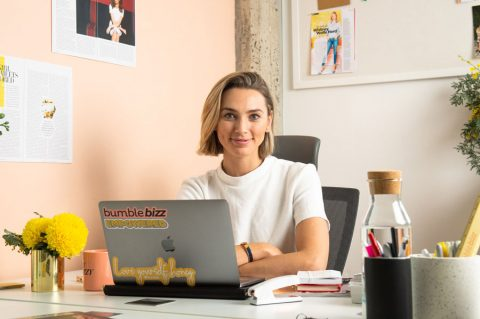 Behind the desks of successful women: Bumble's Michelle Battersby