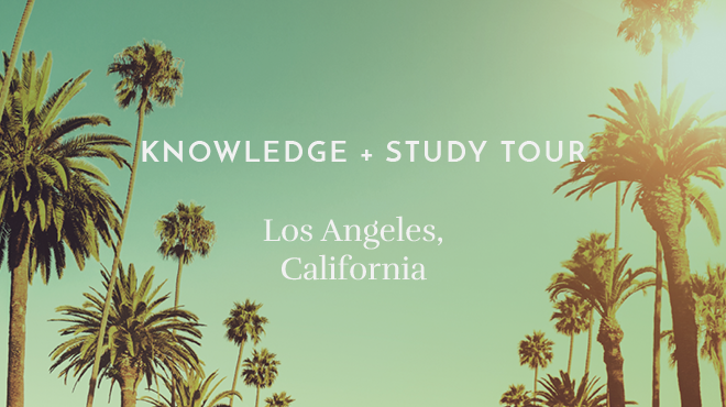 KNOWLEDGE + STUDY TOUR 2019