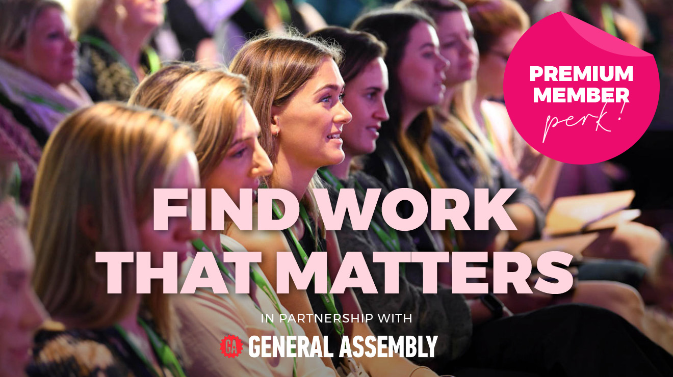 PREMIUM MEMBER WORKSHOP: FIND WORK THAT MATTERS